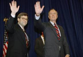 william barr, who served under george h.w. bush, tapped by trump for attorney general