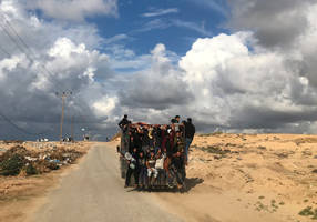 Dozens injured as thousands show up in protest on Gaza-Israel border