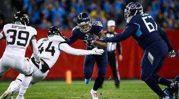 Derrick Henry Scores Four Touchdowns for Titans to Take Down Jaguars on Thursday Night Football