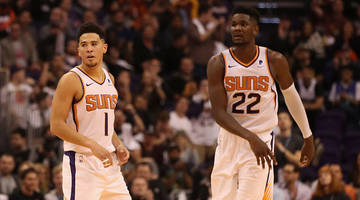 report: deandre ayton and devin booker 'exchanged words' after suns' lopsided loss vs. blazers