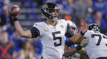 Report: Jaguars Planning to Move On From Blake Bortles at QB in 2019