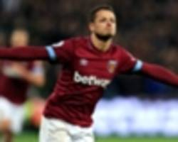 west ham 3 crystal palace 2: hosts' comeback makes it three in a row