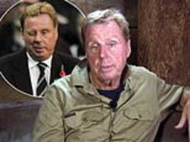 i'm a celebrity: harry redknapp slams 's*** footballers' for getting paid huge sums of money