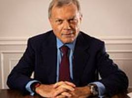 How defiant £450million advertising tycoon Sir Martin Sorrell is bouncing back