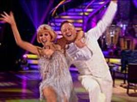 strictly come dancing: stacey dooley grabs kevin clifton's bum after energetic charleston