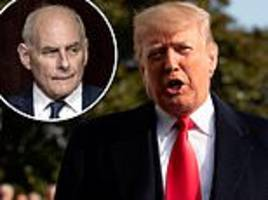 trump confirms that his chief of staff john kelly will be out by the end of the year