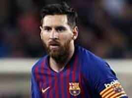 espanyol vs barcelona live: lionel messi and co seek derby victory