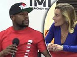 Floyd Mayweather won't fight in an MMA ring unless bout is boxing only