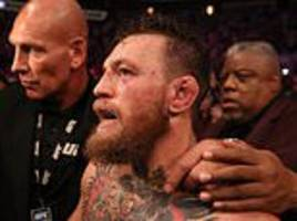 irish fan banned from ufc events after storming octagon during mcgregor and khabib brawl