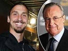zlatan ibrahimovic jokes real madrid chief was crucial to ballon d'or success of modric and cr7