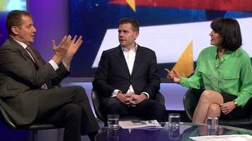 alastair campbell told to 'shut up' during newsnight brexit debate