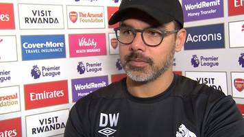 Arsenal 1-0 Huddersfield Town: David Wagner proud of 'fight' shown against Gunners