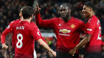 Manchester United 4-1 Fulham: Hosts secure biggest league win of the season