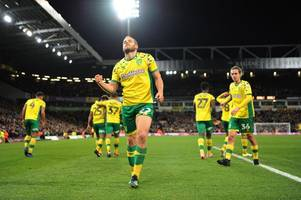 championship: norwich city score last-gasp winner to remain top, nottingham forest lose at home