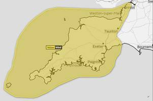 Met Office weather warning sees Bristol event cancelled and bridge closed as 70 MPH winds BATTER South West