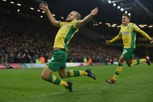 championship review - leaders norwich leave it late, but leeds and sheffield united keep up the pressure