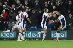 west brom fans are all saying the same thing about 'the hand of rod' as aston villa left fuming