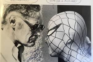 how i met marvel comics' stan lee - the man behind the superhero spider-man