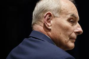 Trump says Chief of Staff John Kelly is leaving the White House at the end of the year