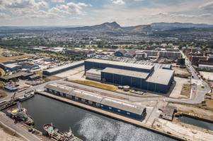 derelict warehouse in leith to become scotland's major film and tv studio