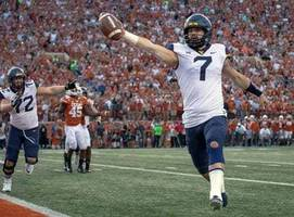 west virginia quarterback will grier will skip bowl game to focus on nfl draft