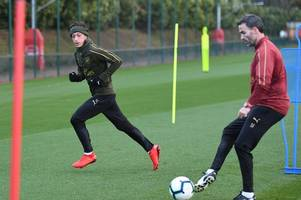 Monreal and Lacazette start, Ozil out - Expected Arsenal starting XI vs Huddersfield Town