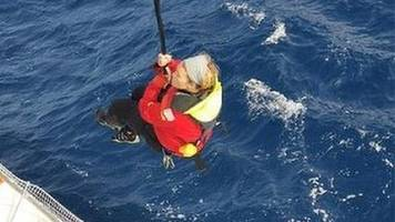 'sailors control own destiny' - golden globe race founder defends event after goodall rescue