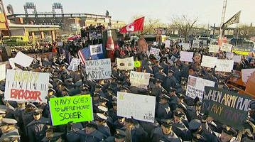 best college gameday signs live from philadelphia for army vs. navy