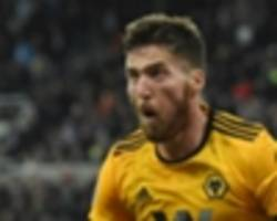 newcastle united 1 wolves 2: doherty punishes yedlin red with late winner
