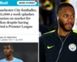 raheem sterling racism: man city star calls out biased media coverage after chelsea abuse