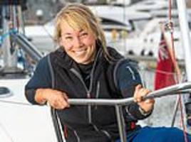 british sailor is forced to deliberately sink her yacht so it does not pose a risk to other vessels