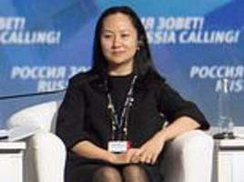 China tells Canada there will be 'severe consequences' if Huawei heiress is not released