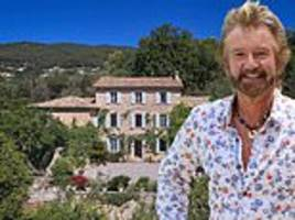 noel edmonds puts french chateau on market for £4m a year after he wanted £3m for the six bed villa