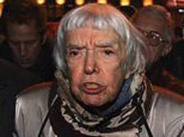 Russian human rights activist Lyudmila Alexeyeva dies at the age of 91 in Moscow