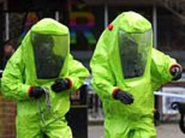 security chiefs believe jihadis are plotting a devastating chemical weapons attack in britain