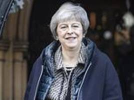 Theresa May warns her warring MPs 'back me or get Corbyn and no Brexit'