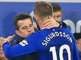 gylfi sigurdsson says everton players love working with marco silva