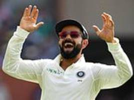 india six wickets away from first test win over australia
