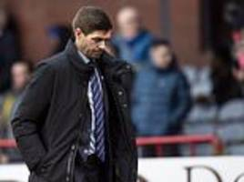 steven gerrard says fringe players shouldn't waste their time knocking on his door again