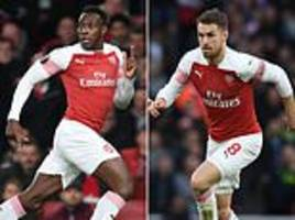 why arsenal are letting aaron ramsey and danny welbeck leave for free