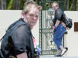 i'm a celeb's anne hegerty shows off her one-stone jungle weight loss as she enjoys a relaxing day
