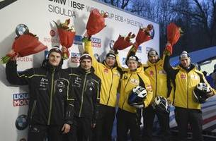 friedrich goes 2-for-2 in world cup weekend bobsled races
