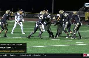 HIGHLIGHTS: Jayton vs. Follett | High School Scoreboard Live