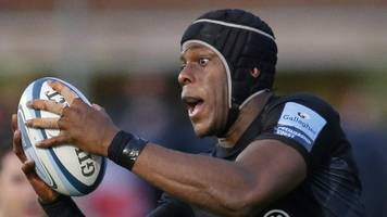 england's itoje out for up to eight weeks - but set to play in six nations