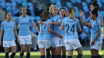 Man City win to move level with WSL leaders Arsenal