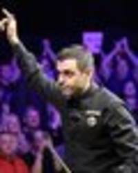 uk championship snooker prize money: the huge cheque ronnie o'sullivan could land tonight