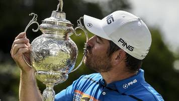 South African Open: Louis Oosthuizen wins at home in Johannesburg