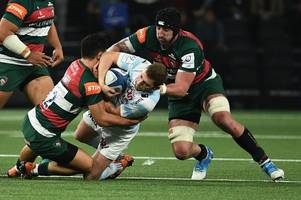 leicester tigers go down fighting as they lose 36-26 to racing 92 in paris