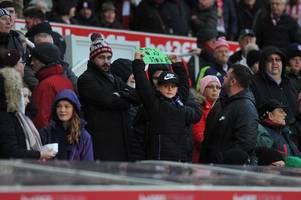 stoke city fans' verdict: slow and steady wins the race. well we're certainly slow, but we are steadily climbing the table