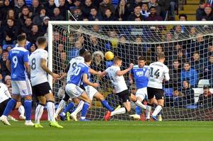 tennis match of insults - birmingham city's atmosphere against bristol city rated